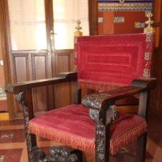 Antigüedades: SILLON FRAILERO.. Lote 109320035