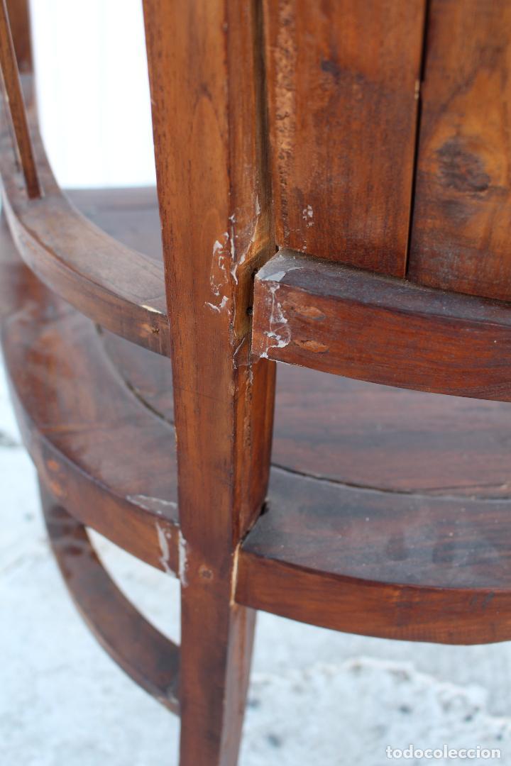 Antigüedades: sillon de madera para restaurar - Foto 5 - 109327595
