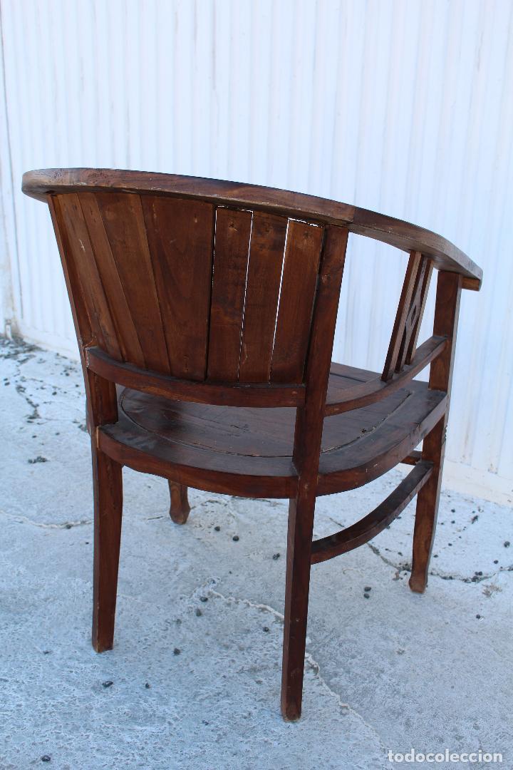 Antigüedades: sillon de madera para restaurar - Foto 6 - 109327595