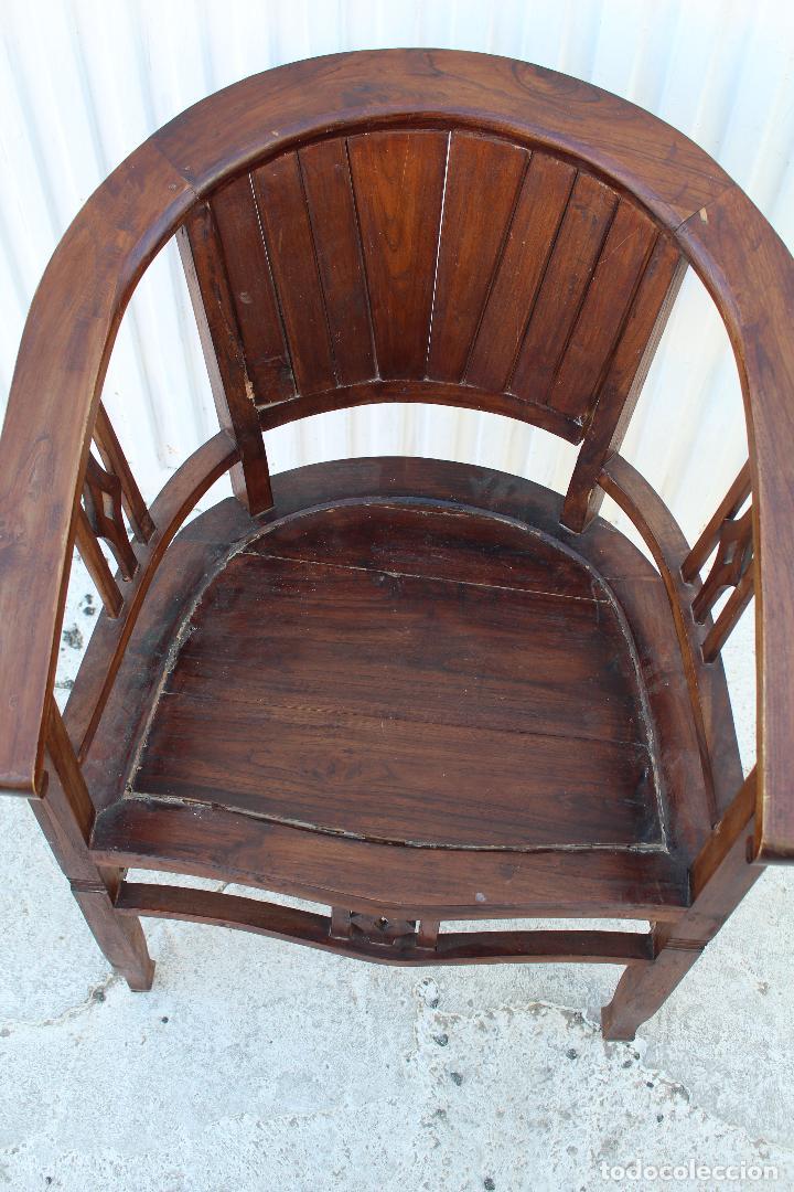 Antigüedades: sillon de madera para restaurar - Foto 7 - 109327595