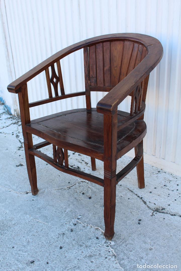 Antigüedades: sillon de madera para restaurar - Foto 9 - 109327595