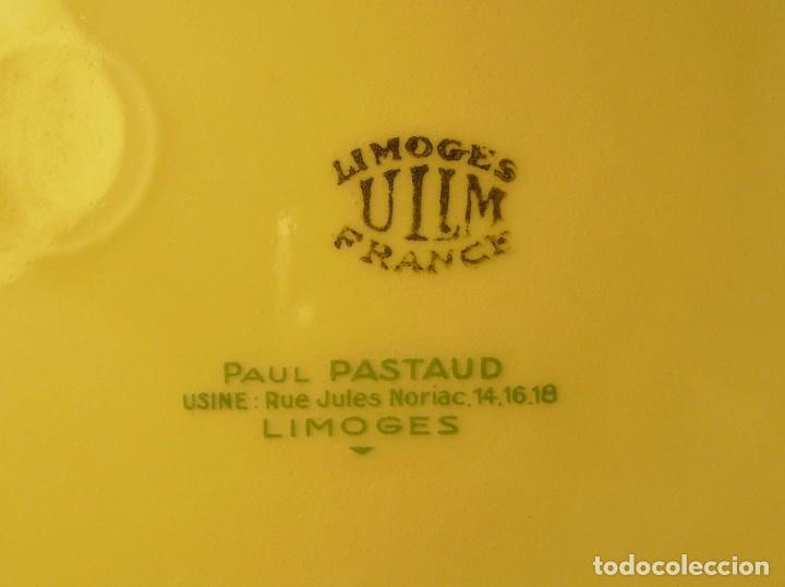 Antigüedades: PLATO PORCELANA FRANCESA LIMOGES - Foto 11 - 109331075