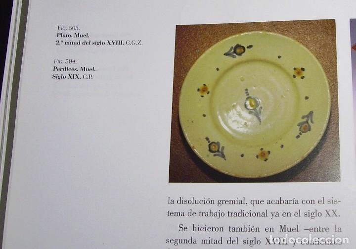Antigüedades: PLATO CERÁMICA ARAGONESA DE MUEL XVIII - Foto 8 - 109332747