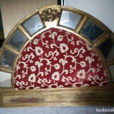 Antigüedades: CABECERO DE CAMA DE MADERA. Lote 109334275