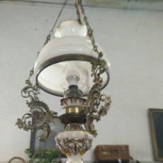 Antigüedades: LAMPARA QUINQUE ANTIGUA. Lote 109350554