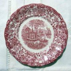 Oggetti Antichi: PLATO, LA CARTUJA PICKMAN, SEVILLA. SERIE ROSA. VER FOTOS W. Lote 200120480