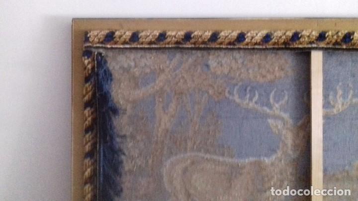 Antigüedades: Tapiz de ciervos años 70 - Foto 9 - 109366959