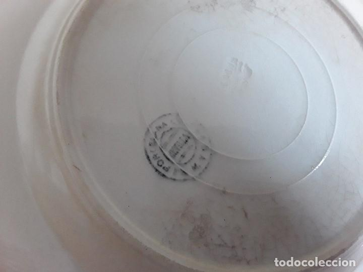 Antigüedades: Lote 11 platos cerámica San Juan - Foto 6 - 109376259