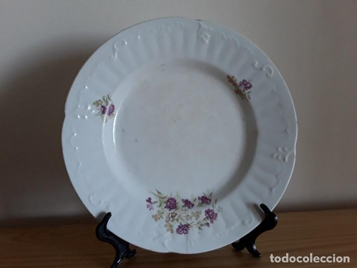 Antigüedades: Lote 11 platos cerámica San Juan - Foto 7 - 109376259
