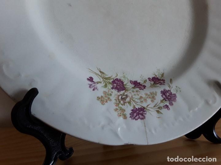 Antigüedades: Lote 11 platos cerámica San Juan - Foto 8 - 109376259