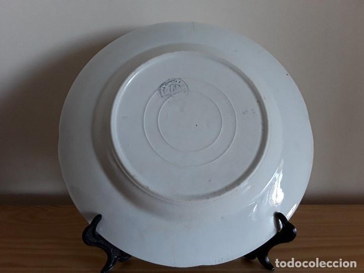 Antigüedades: Lote 11 platos cerámica San Juan - Foto 9 - 109376259