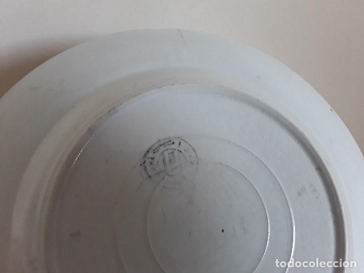 Antigüedades: Lote 11 platos cerámica San Juan - Foto 10 - 109376259