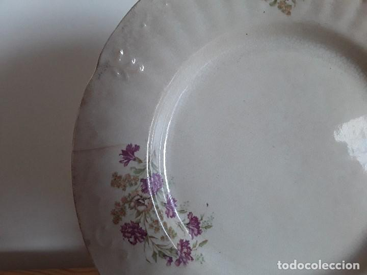 Antigüedades: Lote 11 platos cerámica San Juan - Foto 13 - 109376259