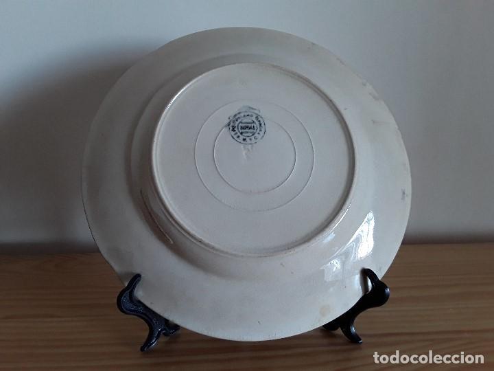 Antigüedades: Lote 11 platos cerámica San Juan - Foto 14 - 109376259