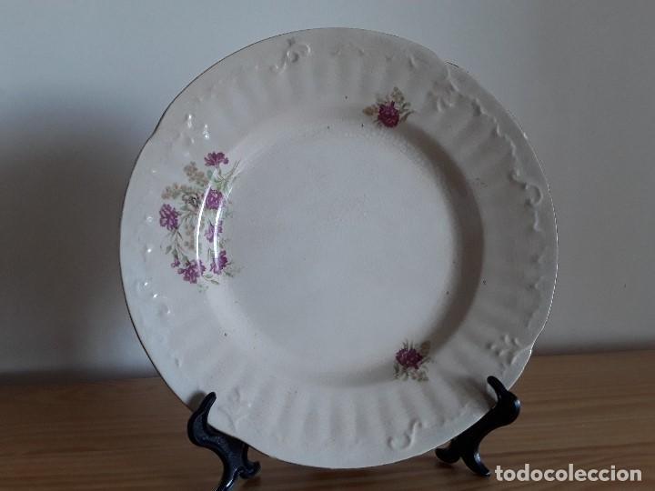 Antigüedades: Lote 11 platos cerámica San Juan - Foto 17 - 109376259