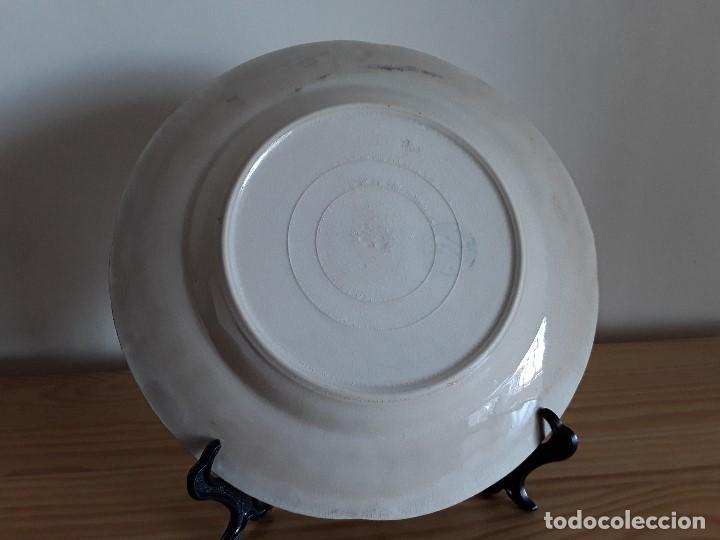 Antigüedades: Lote 11 platos cerámica San Juan - Foto 18 - 109376259