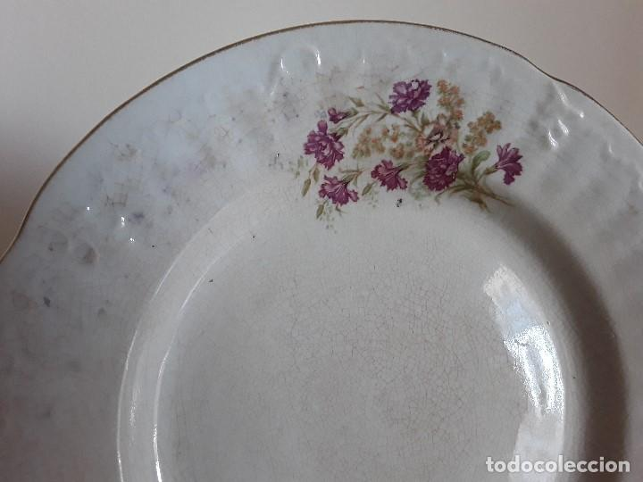 Antigüedades: Lote 11 platos cerámica San Juan - Foto 20 - 109376259