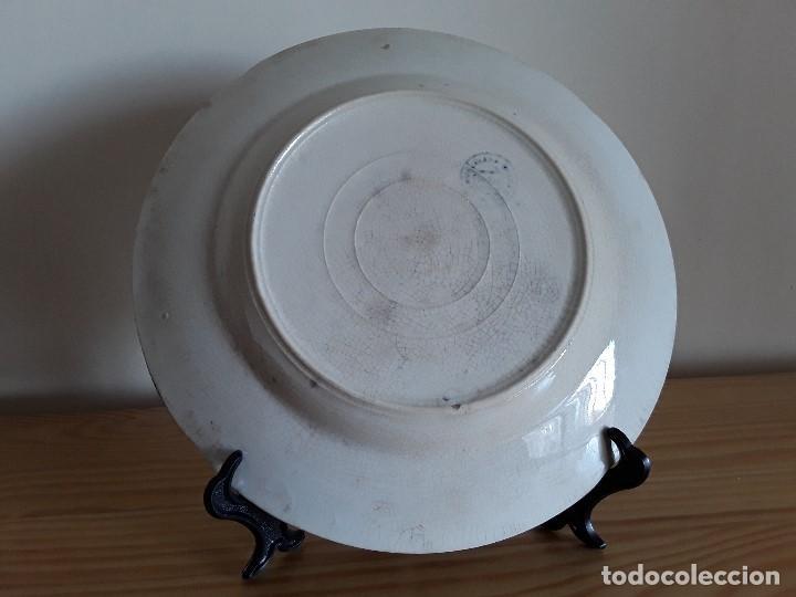 Antigüedades: Lote 11 platos cerámica San Juan - Foto 21 - 109376259
