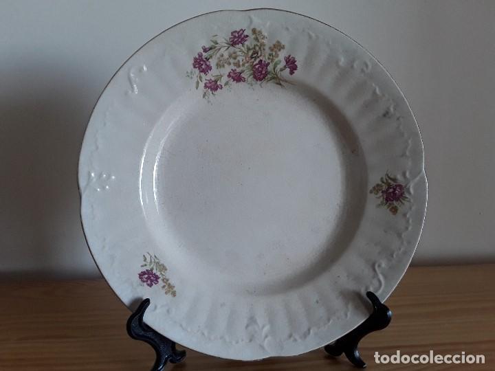 Antigüedades: Lote 11 platos cerámica San Juan - Foto 22 - 109376259