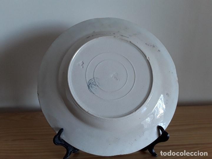 Antigüedades: Lote 11 platos cerámica San Juan - Foto 23 - 109376259