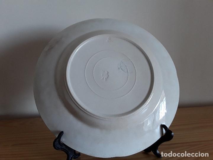 Antigüedades: Lote 11 platos cerámica San Juan - Foto 27 - 109376259