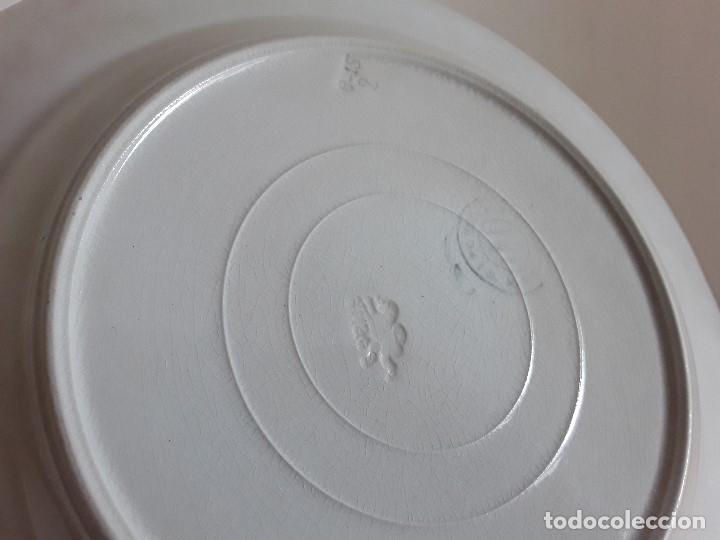 Antigüedades: Lote 11 platos cerámica San Juan - Foto 29 - 109376259