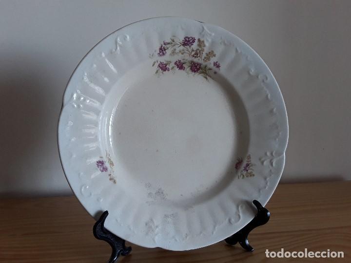 Antigüedades: Lote 11 platos cerámica San Juan - Foto 30 - 109376259