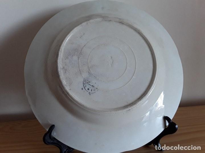Antigüedades: Lote 11 platos cerámica San Juan - Foto 32 - 109376259