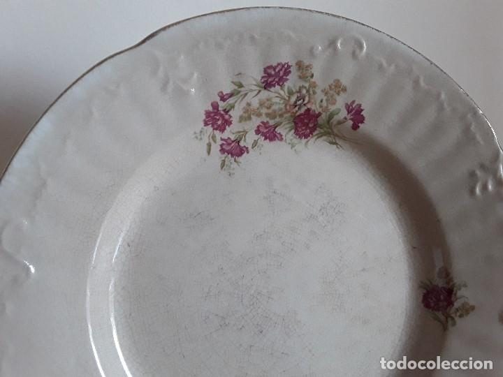 Antigüedades: Lote 11 platos cerámica San Juan - Foto 34 - 109376259