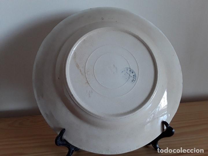 Antigüedades: Lote 11 platos cerámica San Juan - Foto 35 - 109376259