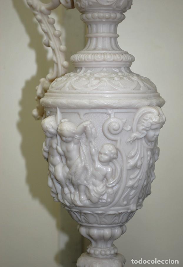 Antigüedades: JARRÓN ANTIGUO O ÁNFORA DE MARMOLINA - Foto 4 - 109376947