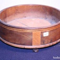 Antigüedades: PEANA DE MADERA. Lote 109385223