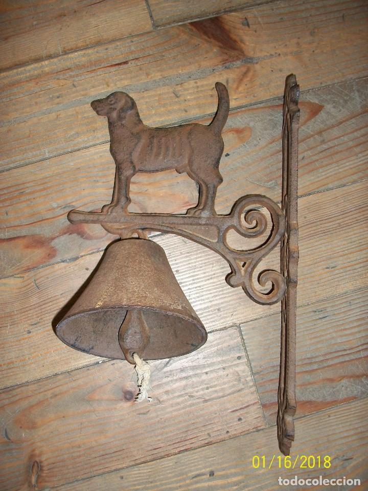 CAMPANA LLAMADOR (Antigüedades - Hogar y Decoración - Campanas Antiguas)
