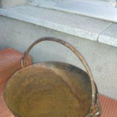 Antigüedades: CALDERO DE HIERRO. Lote 109396151