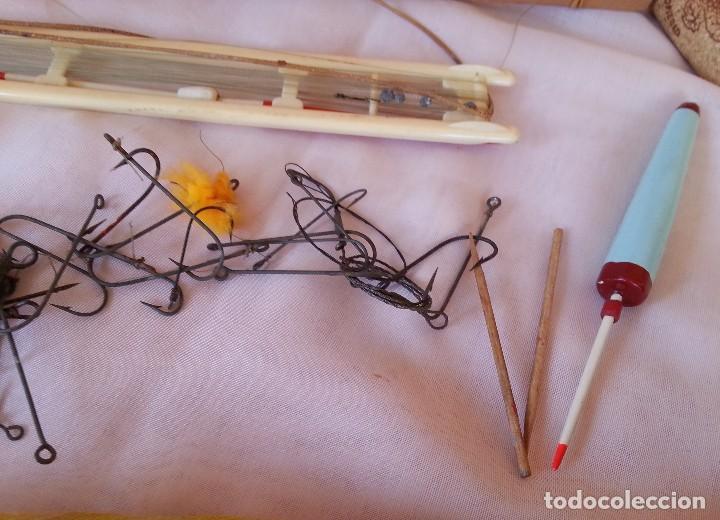 Antigüedades: Aperos para la pesca. Sedales antiguos. - Foto 5 - 109397259