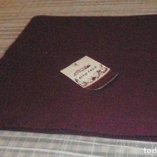 Antigüedades: TAPETE O MANTEL COLOR BURDEOS. Lote 109405447