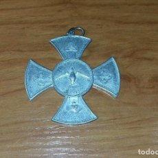 Antigüedades: MEDALLA DE ALUMINIO- GLORIA AO DIVINO LEMBRANÇA DO JUIZ - D.R J.E COSTA - PELOTAS-1909.. Lote 109414311