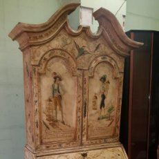 Antigüedades: ESPECTACULAR MUEBLE PINTADO AL ESTILO ITALIANO . Lote 109440963