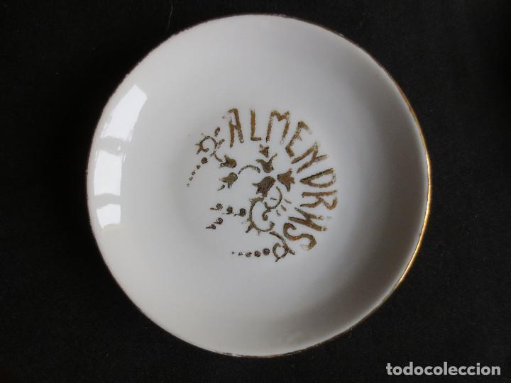 Antigüedades: ANTIGUO CONJUNTO DE CINCO PLATOS DE APERITIVOS - Foto 3 - 109441591
