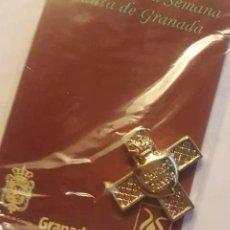 Antigüedades: ESCUDO COFRADIA DEL RESCATE GRANADA. Lote 109454783
