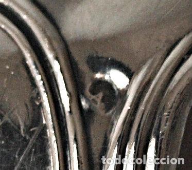 Antigüedades: SERVILLETERO DE PLATA DE LEY CONTRASTADA, CON NOMBRE GRABADO. 16 GRAMOS. VER FOTOS Y DESCRIPCION - Foto 15 - 109466999