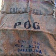 Antigüedades: SACO DE ARPILLERA O YUTE,SACO GRANDE,. Lote 109495911