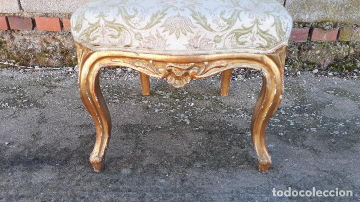 Antigüedades: Tresillo antiguo estilo Luis XV sofá antiguo + 2 sillones antiguos + 4 sillas antiguas retro vintage - Foto 29 - 109497279