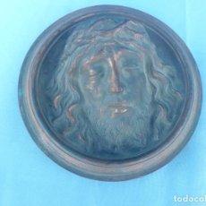 Antigüedades: TONDO DE COLGAR JESUCRISTO YACENTE. Lote 109498063