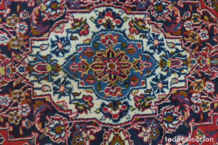 Antigüedades: GRAN ALFOMBRA KESHAN DE PERSIA - Foto 2 - 109534447