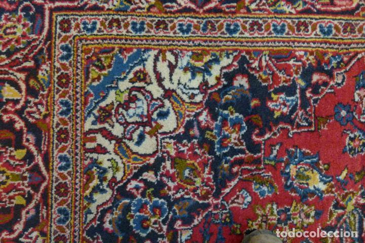 Antigüedades: GRAN ALFOMBRA KESHAN DE PERSIA - Foto 3 - 109534447