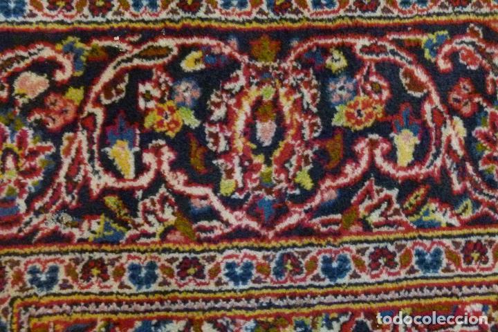 Antigüedades: GRAN ALFOMBRA KESHAN DE PERSIA - Foto 4 - 109534447