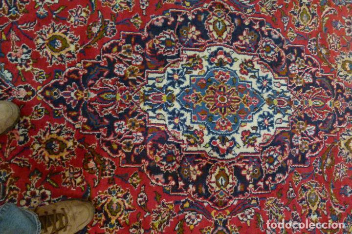 Antigüedades: GRAN ALFOMBRA KESHAN DE PERSIA - Foto 6 - 109534447