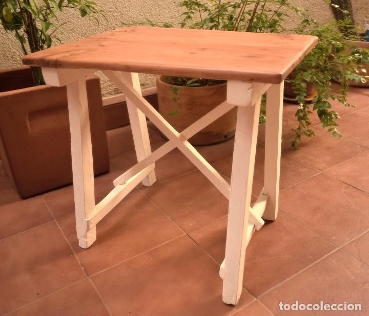 Antigüedades: Mesa choricera restaurada - Foto 2 - 109548687