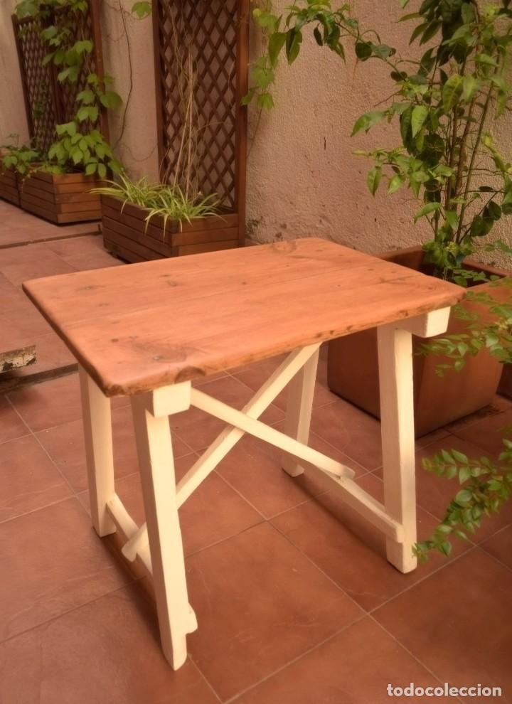 Antigüedades: Mesa choricera restaurada - Foto 3 - 109548687